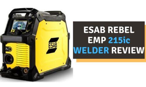 ESAB Rebel EMP 215ic Welder Review (2021)